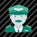 avatar, face, man, pilot, profile, user