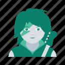 avatar, face, profile, rockstar, user, woman
