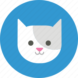 animal, avatar, cat, user, user picture icon