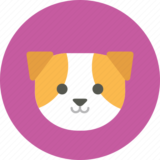 account, animal face, avatar, cute, dog, profile picture, user icon