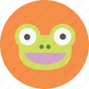 account, animal, avatar, frog, user picture icon