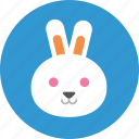 account, animal, avatar, rabbit, user, user picture, user profile icon