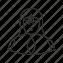 girl, lady, princess, star wars, avatar, star trek, super hero icon