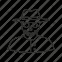 avatar, skeleton, skeleton top hat, skeleton tophat, top hat, halloween, super villain icon