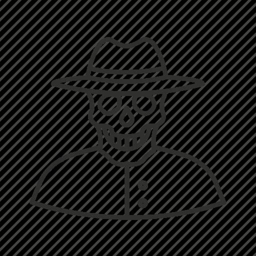 avatar, halloween, skeleton, skeleton top hat, skeleton tophat, super villain, top hat icon