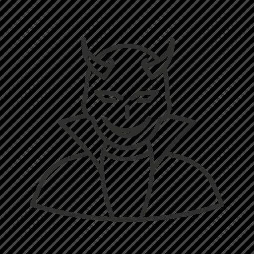 avatar, devil, devil with horns, halloween, horned devil, super villain, voldmort icon