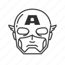 avatar, captain, captain america, comics, marvel, mutant, super hero icon