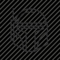 avatar, bounty hunter, space helmet, spacecraft, star wars, starwars, storm trooper icon