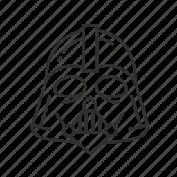 avatar, darth vader, star wars, starwars, super villain, the dark side, vader icon