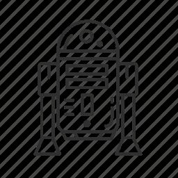 artoo-detoo, avatar, c3po, george lucas, r2d2, robot, star wars icon