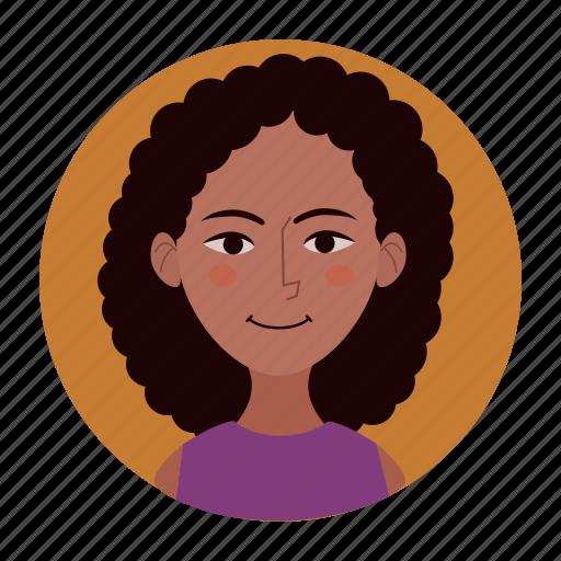 avatar, client, female, girl, teacher, user, woman icon