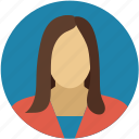 business lady, corporate lady, corporate women, girl, office woman, woman icon