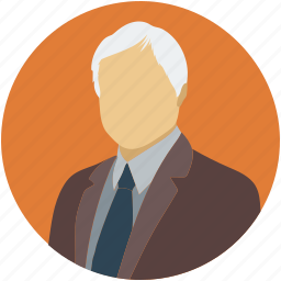 administrator, business man, consultant, man, old man, senior citizen, user icon