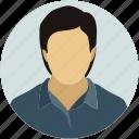 male, man, person, profile, user