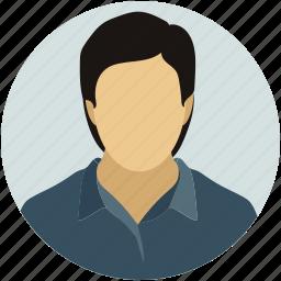 male, man, person, profile, user icon