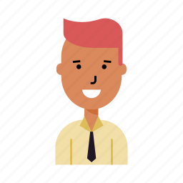 account, avatar, bank employee, man, office-manager, profile, user icon