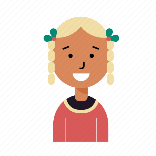 avatar, caucasian, girl, profile, schoolgirl, tribal, user icon