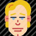 avatars, boy, handsome, male, man, profile, user icon