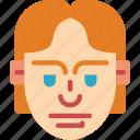 avatars, boy, hair, male, profile, straight, user icon