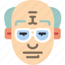 avatars, balding, boy, male, profile, user icon