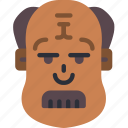 avatars, balding, boy, male, mustache, profile, user icon