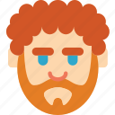 avatars, beard, big, boy, male, profile, user icon