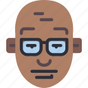 avatars, bald, boy, male, profile, user icon
