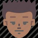 avatars, boy, hair, male, profile, spikey, user icon