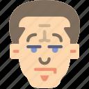 avatars, big, boy, hair, male, profile, user icon