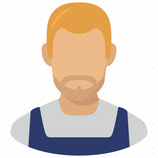 adult, avatar, labour, man, profile, worker icon