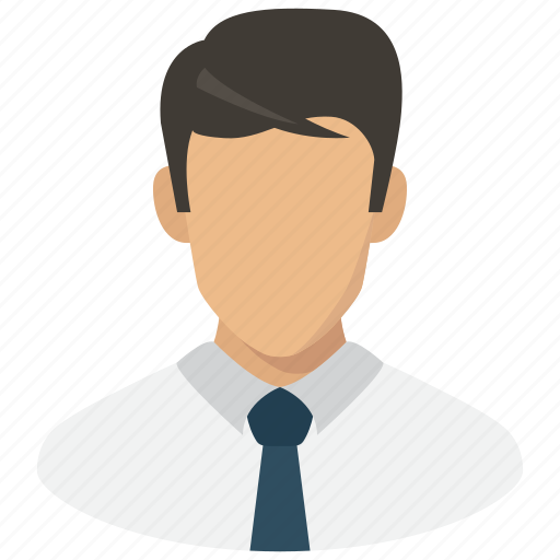 avatar, businessman, man, profile, user icon
