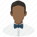 avatar, man, waiter icon