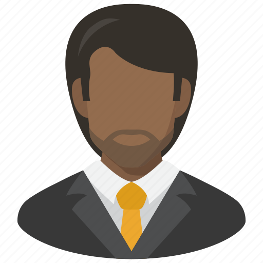 adult, avatar, man, manager, user, vest icon