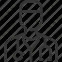 avatar, doctor, health, hospital, male, man, nurse icon
