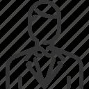 avatar, male, man, servent, waiter icon