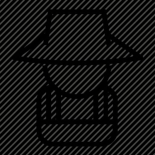 Farmer, farming, hat, straw, wheat icon - Download on Iconfinder