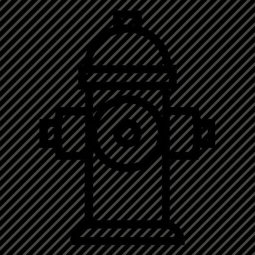 fire, fireplug, hydrant, plug, profesion, water icon