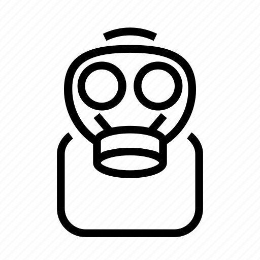 Gas, hazzard, mask, profesion, protection icon - Download on Iconfinder