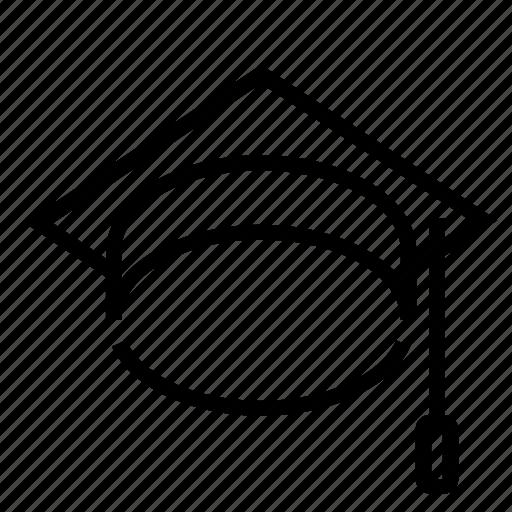 absolvent, graduate, graduation, scholar, school icon