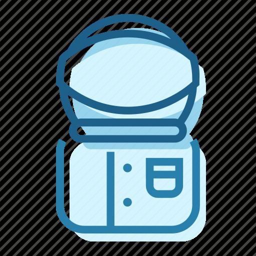 aestronaut, cosmonaut, helmet, mission, ship, space, travel icon