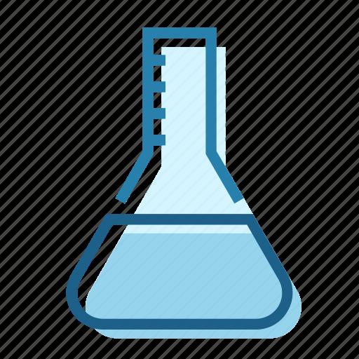 chemistry, flask, lab, laboratory, science, tube icon