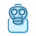 chemistry, gas, lab, mask, protection, science icon