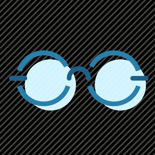 binoculars, glasses, magnify, reading icon