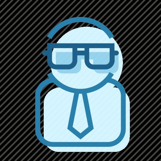 Glasses, lab, nerd, proffesor, scientist, worker icon - Download on Iconfinder