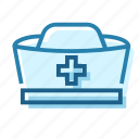 care, doctor, hat, heal, help, hospital, nurse icon