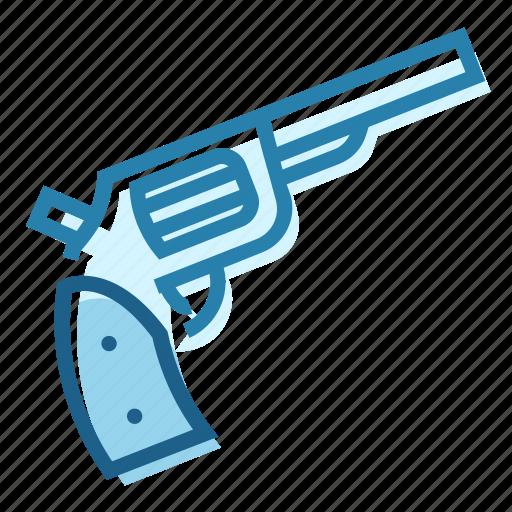 arms, bullet, cowboy, fire, gun, revolver icon