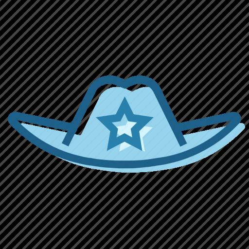 cowboy, hat, police, sheriff, texas, west, wild icon