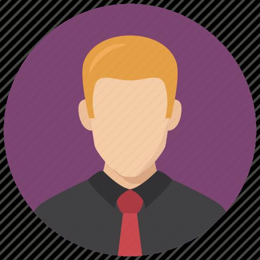 avatar, business, man icon