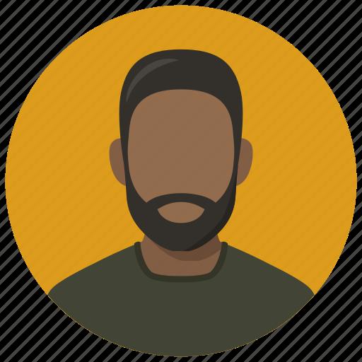 Man, african, avatar icon - Download on Iconfinder