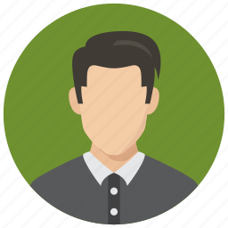 avatar, man, student icon